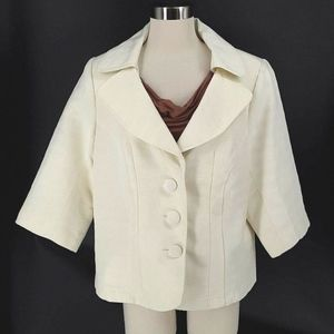 Lane Bryant Jacket Blazer Size 20 Textured Fully
